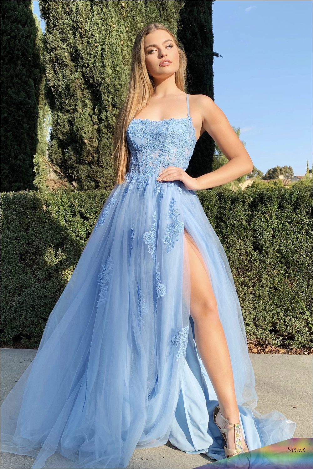 May 15, 15 - Alisha Gown lace and tulle prom dress - Mia Bella