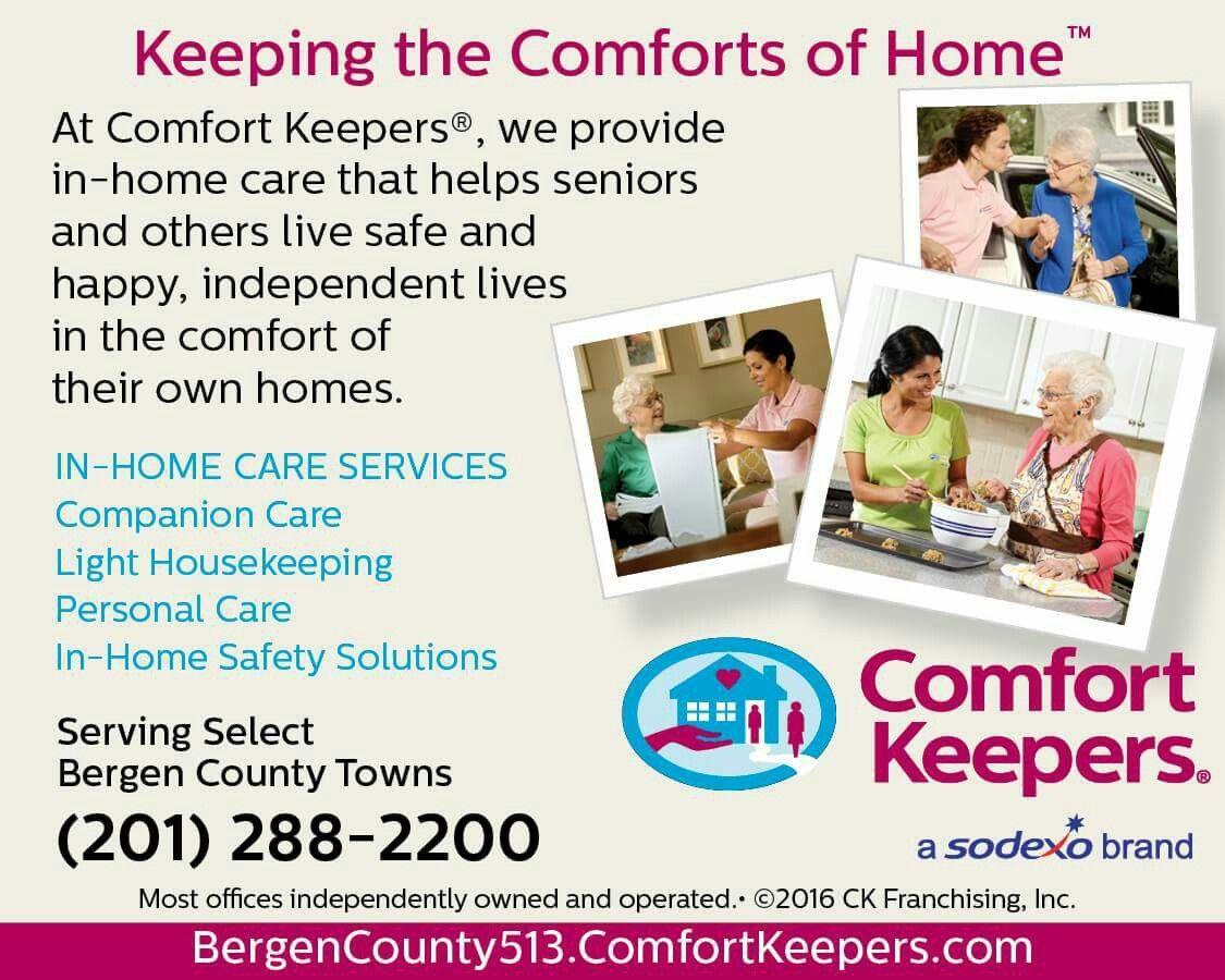 Pin by Comfort Keepers on Comfort Keepers of Hasbrouck