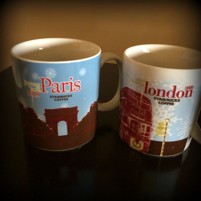 Collecting Coffee Paris Mugs London Starbucks And H2IWY9ED