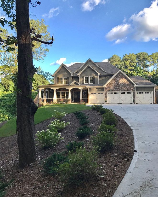 Exteriors. We Chose A Traditional Craftsman Plan. The
