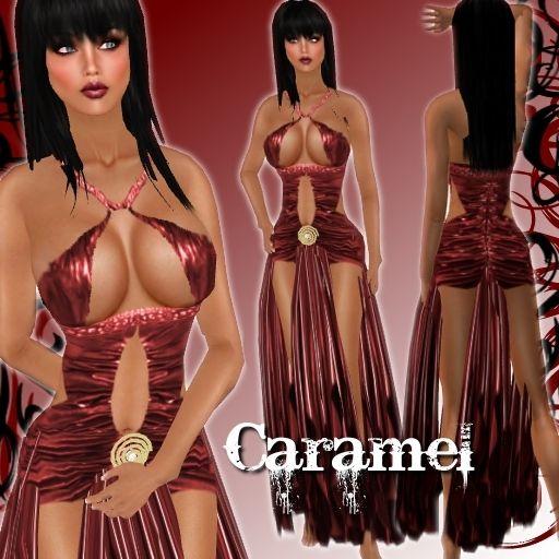 Sexy caramel women