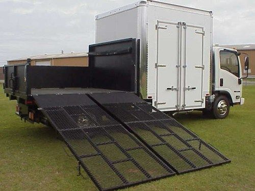 Superboxtruckramps Com The Directional Anti Slip Expanded Metal On The Mr 750 Is Heavy Duty And Offers Great Walking And Loading Safety The High Percen Iberica