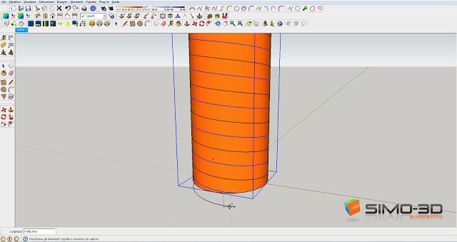 Creating A Screw With Sketchup How Many Times You Have Wondered