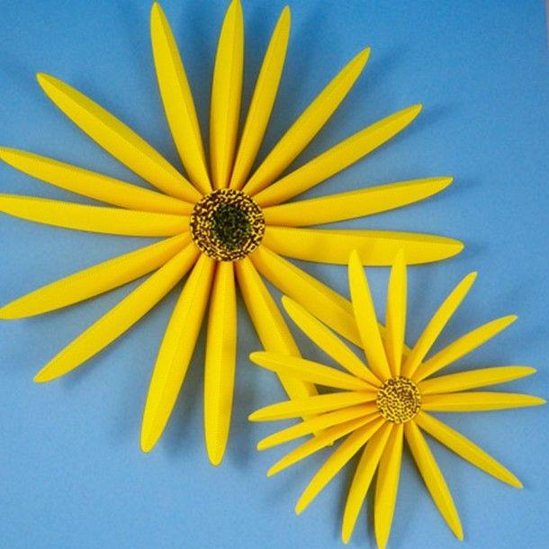 Cara Membuat Bunga Matahari dari Sedotan  d9eeab1aac