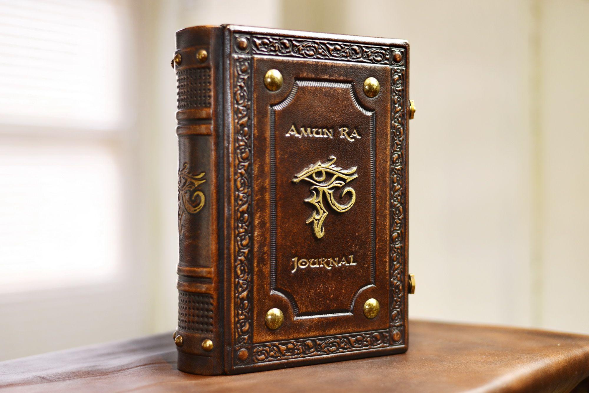 Pin On Leather Hardbound Journals