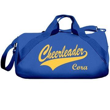 Custom Cheerleaders Bag Customize A Cool Cheerleading For Your Cheerleader Design It In