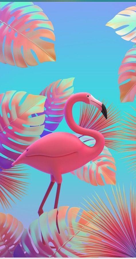 Super Wall Paper Fofos Novos Flamingos 53 Ideas Flamingo Wallpaper Pink Flamingo Wallpaper Flamingo Art