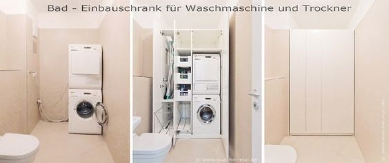 Einbauschrank Schrank Auf Ma Einbauschrank Bad Waschmaschine im gesamten Sarah Richardson Waschk ...