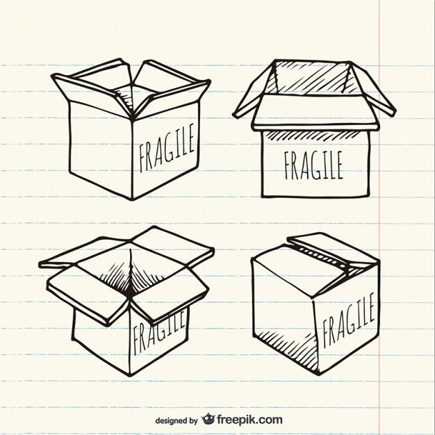 Download Sketched Box For Free