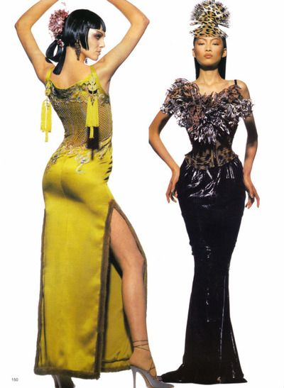Christian Dior by John Galliano  from German Vogue (May 1997)