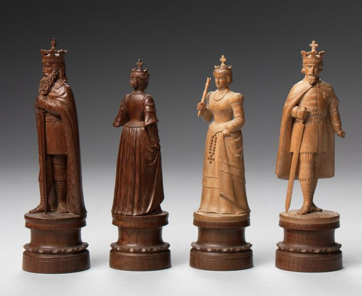 Prized And Played Highlights From The Jon Crumiller Collection World Chess Hall Of Fame Chess Viking Chess Chess Pieces