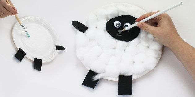 Paper Plate Sheep Chinese New Year Craft Instructions - twinkl & Paper Plate Sheep Chinese New Year Craft Instructions - twinkl ...