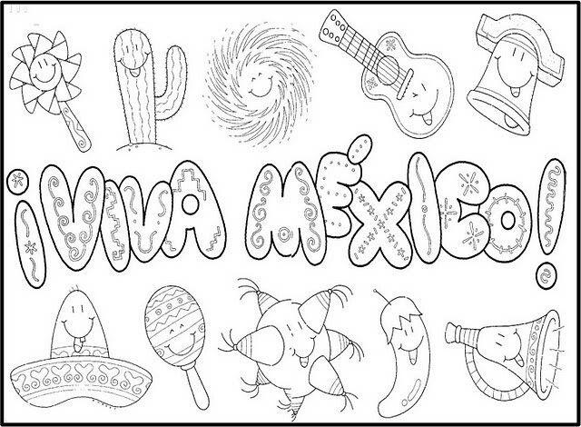 Viva Mexico Manualidades 15 De Septiembre Para Ninos Dibujos De La Independencia Manualidades Septiembre