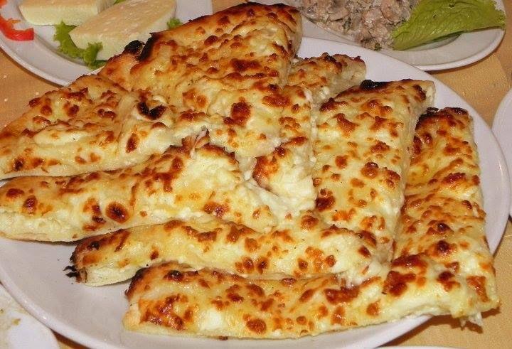 Megruli Khachapuri Einfache Gerichte Hauptgericht Essen