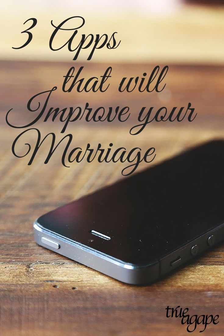 Your smart phone does not have to effect your marriage in a negative way. Here are 3 apps that will help improve your marriage.