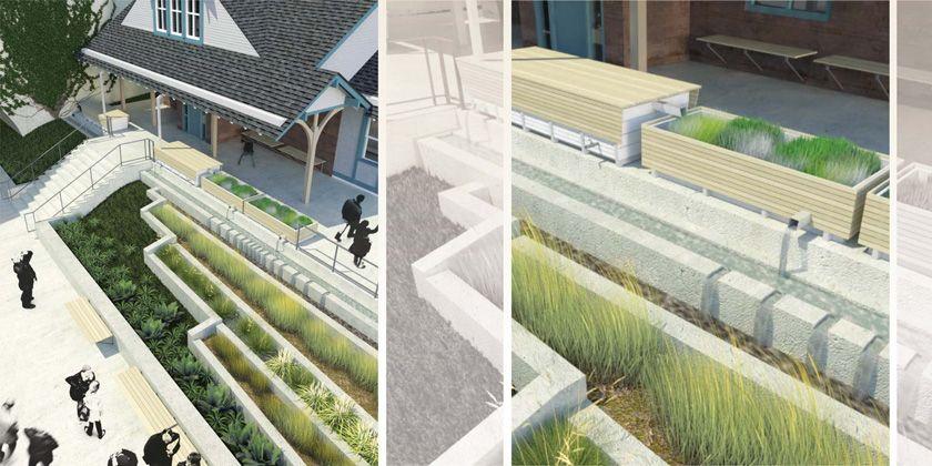 North Street Design - Selected Work - Cynwyd Station, Pennsylvania