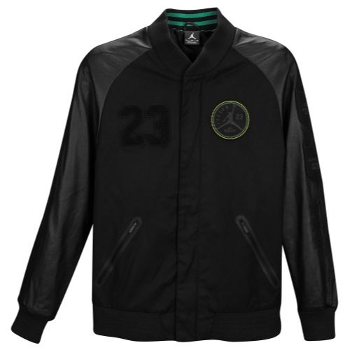 Black scvle the makarov jacket in white