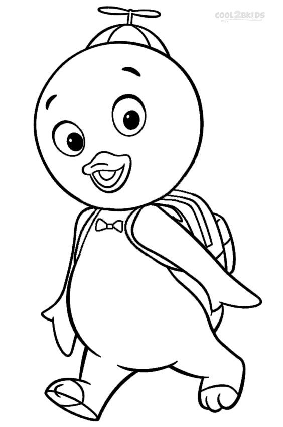 Printable Backyardigans Coloring Pages For Kids
