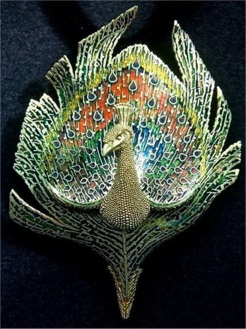 Beautiful jewelry art by American jeweler John Paul Miller