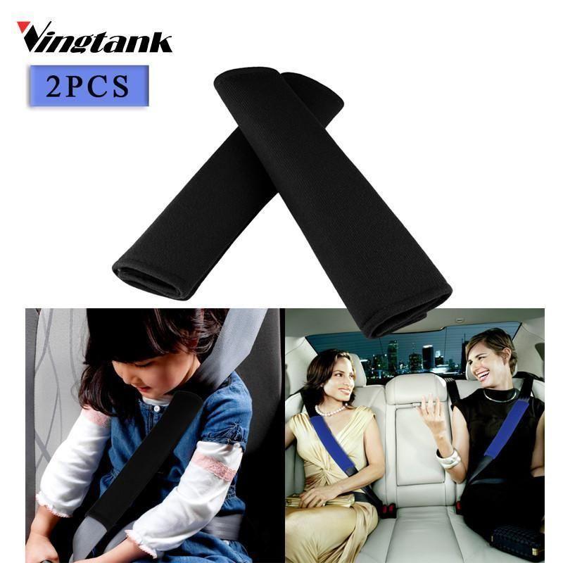 checkout 2pcs Universal Auto Car Seat Safety belt for cars Shoulder ...