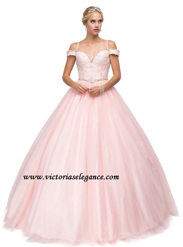Formal Quinceanera Prom Sweet 16 Debutant Dress Ball Gown DQ1154 ...