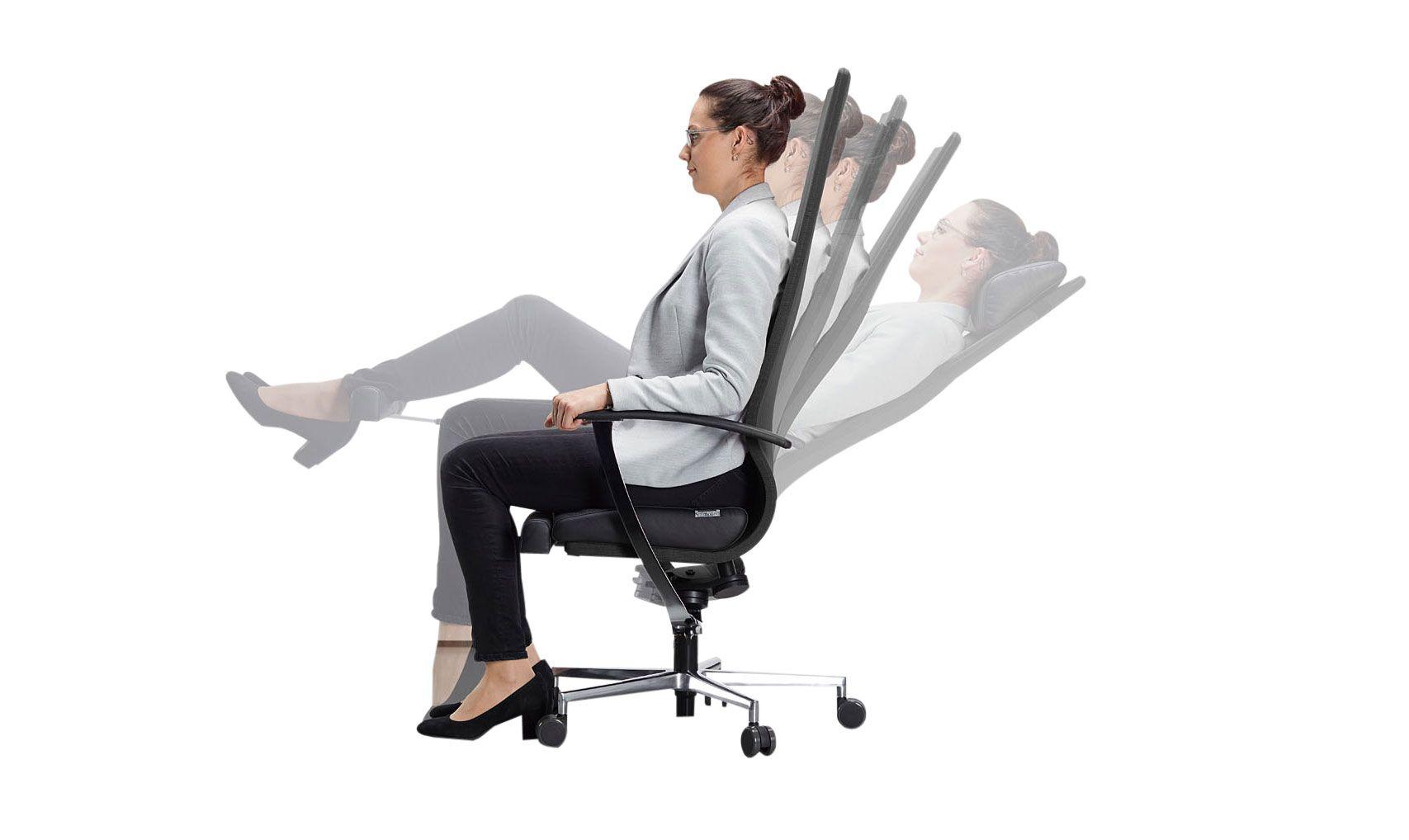Gesundes Sitzen Im Büro