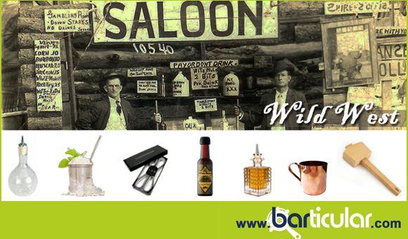 Old Wild West: il ritorno alle origini! Accessori per vintage bartender & mixologist. http://www.barticular.com/store/mixology-vintage