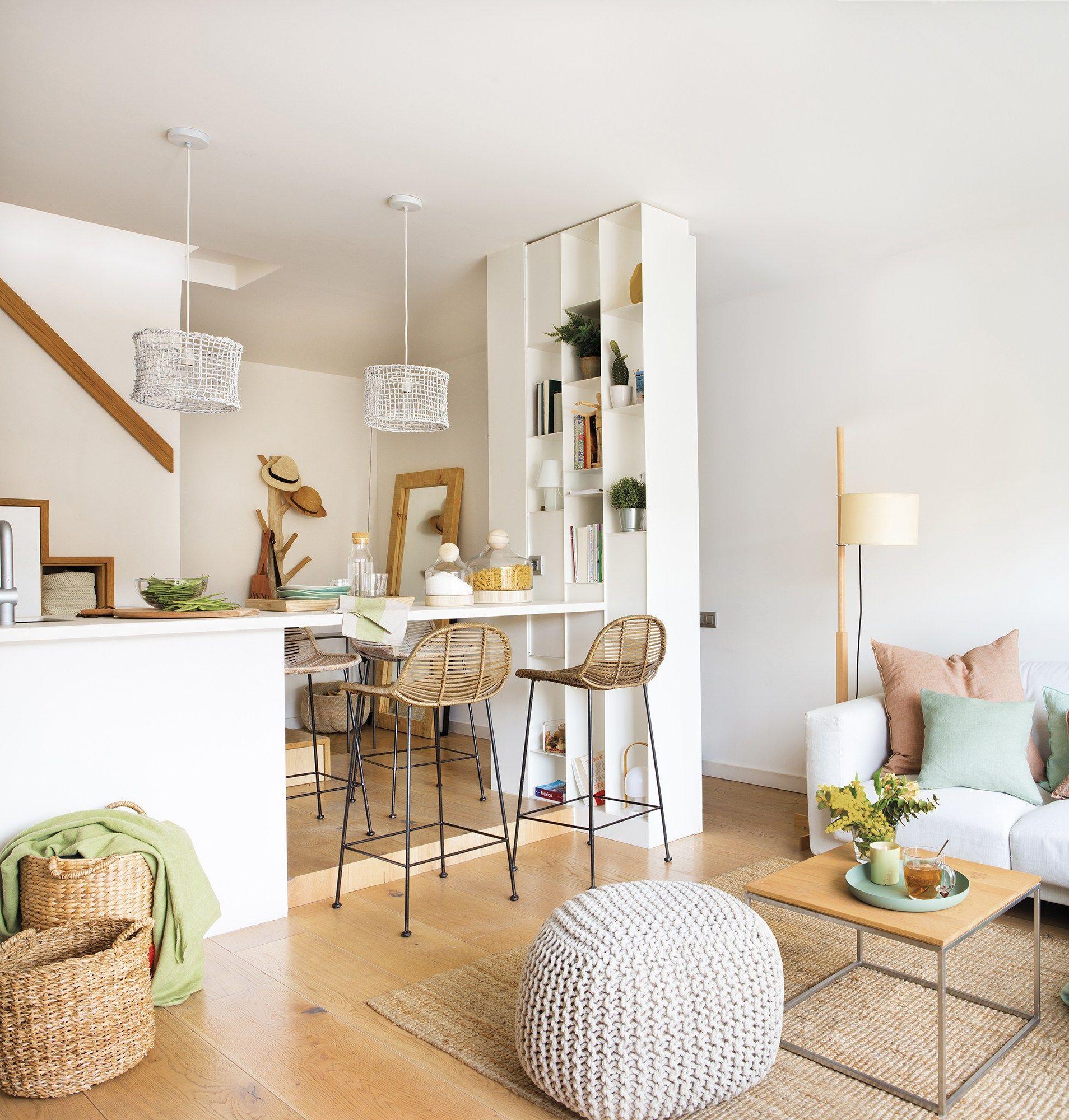 Photo of Un petit appartement en duplex pensé au centimètre – PLANETE DECO a homes world