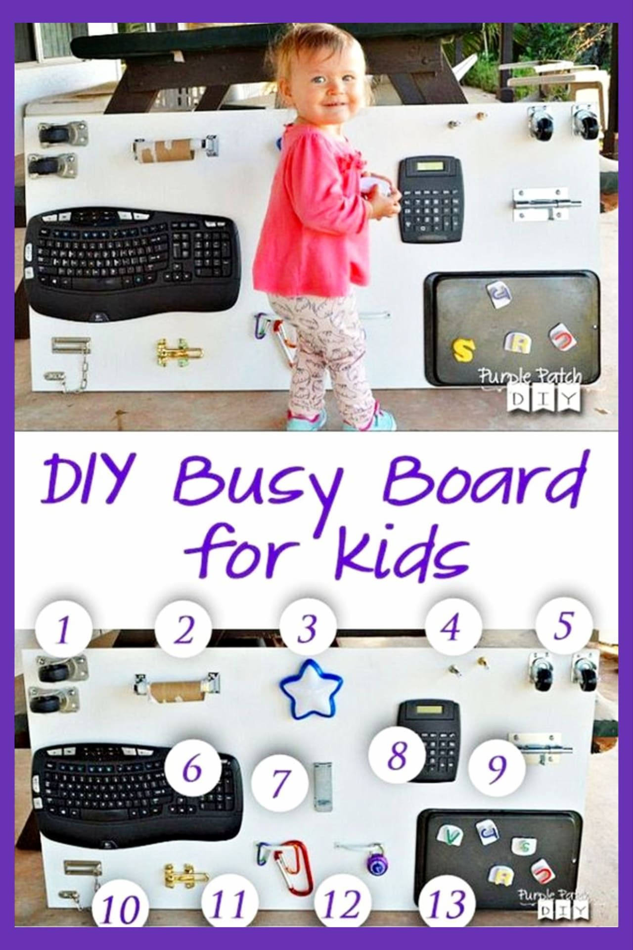 57+ Sensory Board Ideas for Toddlers - Easy DIY Activity Boards Your Toddler Will LOVE