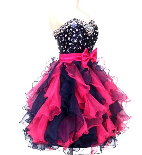 Sweetheart Beading Short Prom Dresses,Charming Homecoming Dresses ...