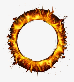 Circle Fire Png Banner Library Stock Round Fire Flame Png 23712 Transparent Background Real Fire Fire