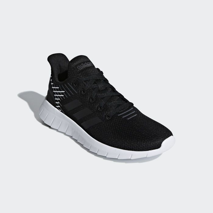 Asweerun Shoes Black Womens | Black shoes, Shoes, Black adidas