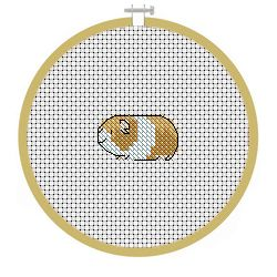 Free Guinea Pig Cross Stitch Pattern Lets Get Stitched Cross