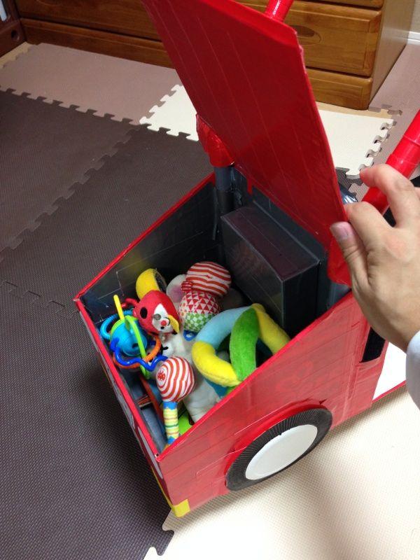 ハンドメイド Part4 3段変形車 完成編 手作り育児 ハンドメイド 車06 Jpg 手作り おもちゃ 車 手作りおもちゃ 幼児 手作りおもちゃ 保育園