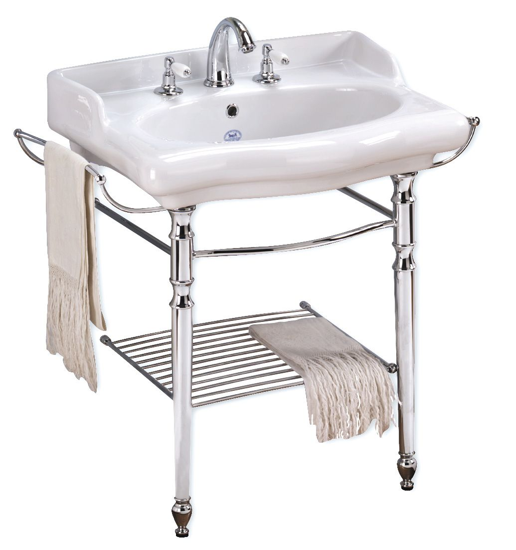 Magica Bathroom Console Sink With Metal Grid Shelf Console Sink Bathroom Console Wall Mounted Bathroom Sinks