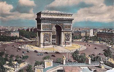 LArc-De-Triomphe-Paris-Postcard-Posted-1953