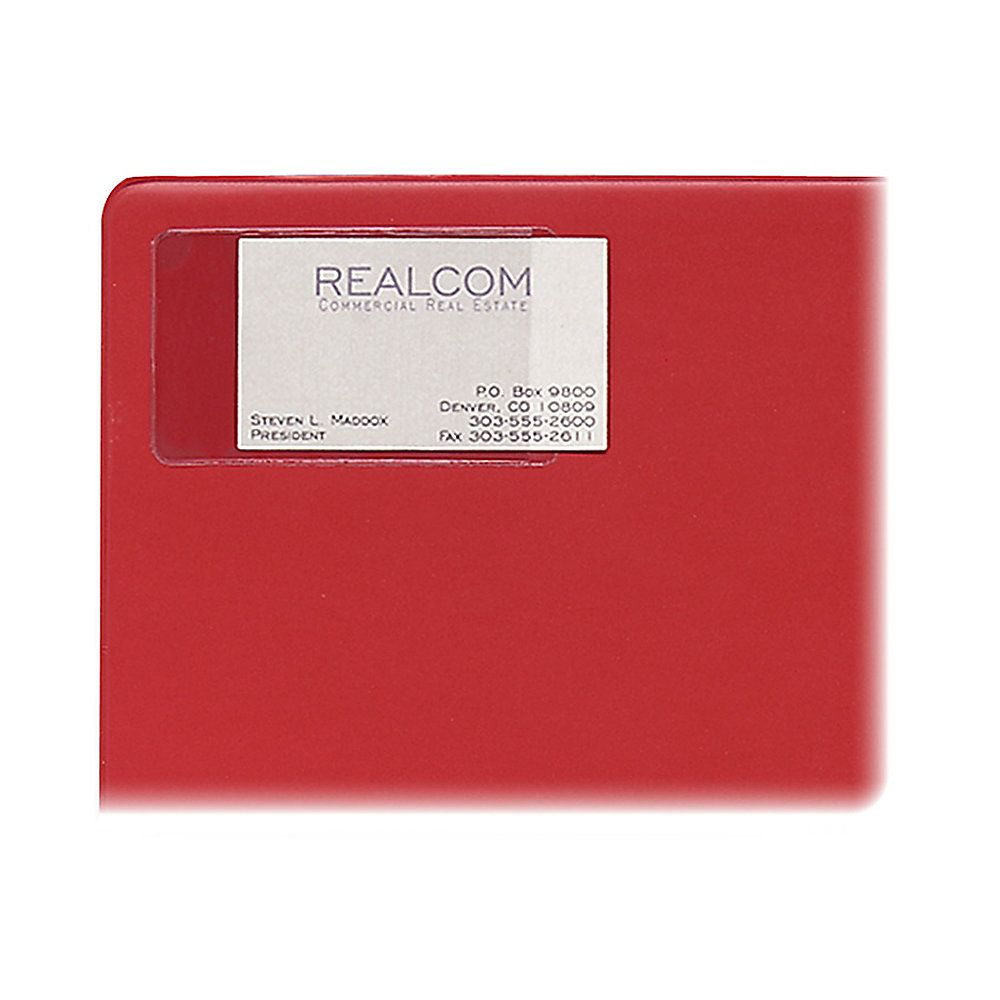 C-Line® Self-Adhesive Business Card Holders, 2\