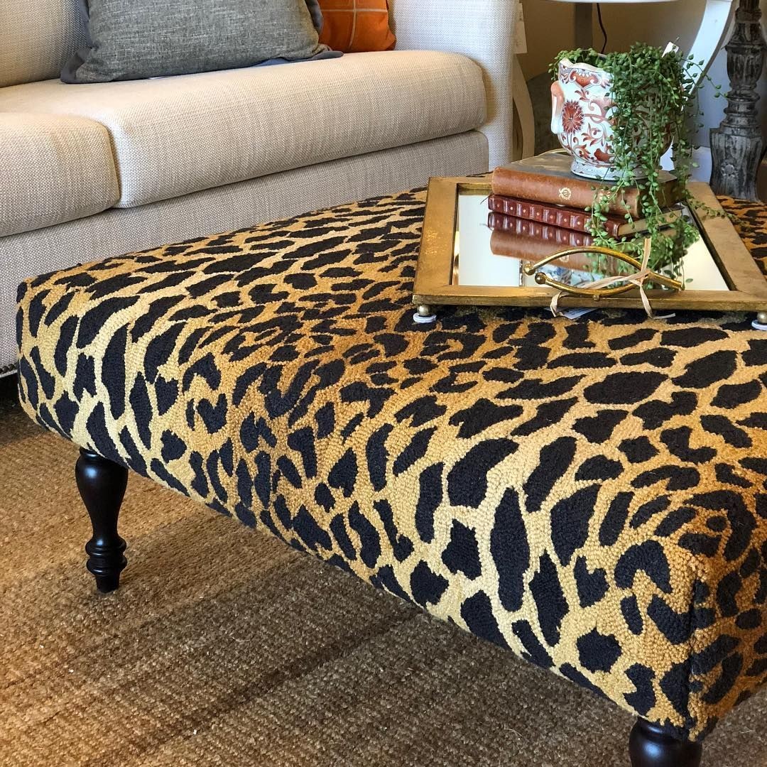 Ottoman Coffee Table Decor