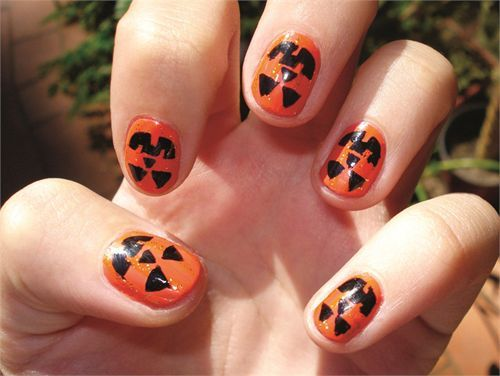 9 Best Halloween Nail Art Designs With Pictures Nail Designs
