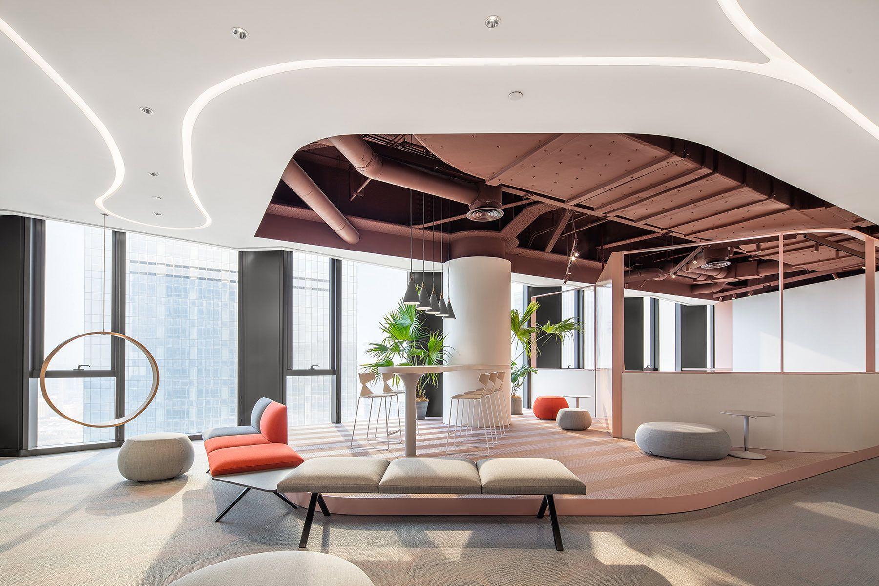 A Look Inside Private E Commerce Company In Xi An Office Interior Design Office Interiors Interior Design