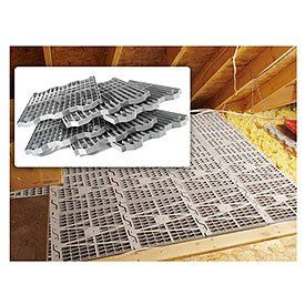 Attic Dek Flooring Pack Of 4 Panels Gray 24 X 16 Metro Http