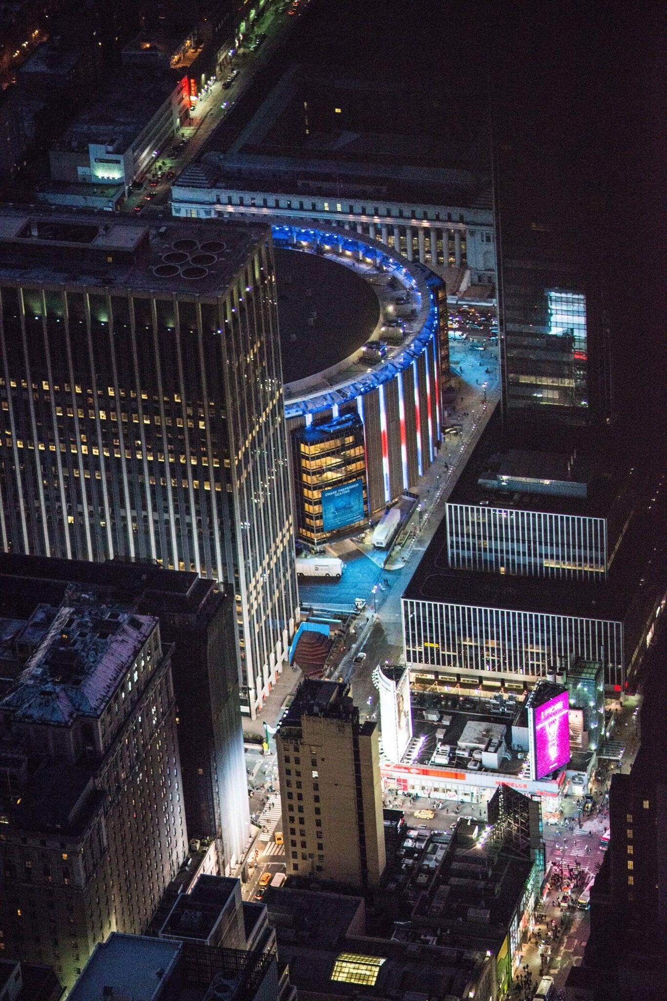 Madison Square Garden Mallorca Huwelijksreis Verenigde Staten