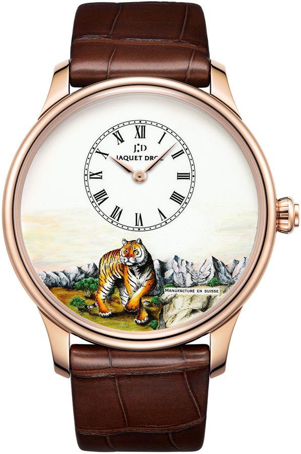 Jaquet Droz [NEW][LIMITED 88][全新限量88支] Petite Heure Minute Tiger J005033297 (Retail:CHF 28900) ~ UNBEATABLE OFFER: HK$167,000.   #JD #JAQUETDROZ #JAQUET_DROZ #PETITEHEURE #JDPETITEHEURE #JAQUETDROZPETITEHEURE  #JAQUETDROZTIGER #JDTIGER #LESATELIER #J005033297