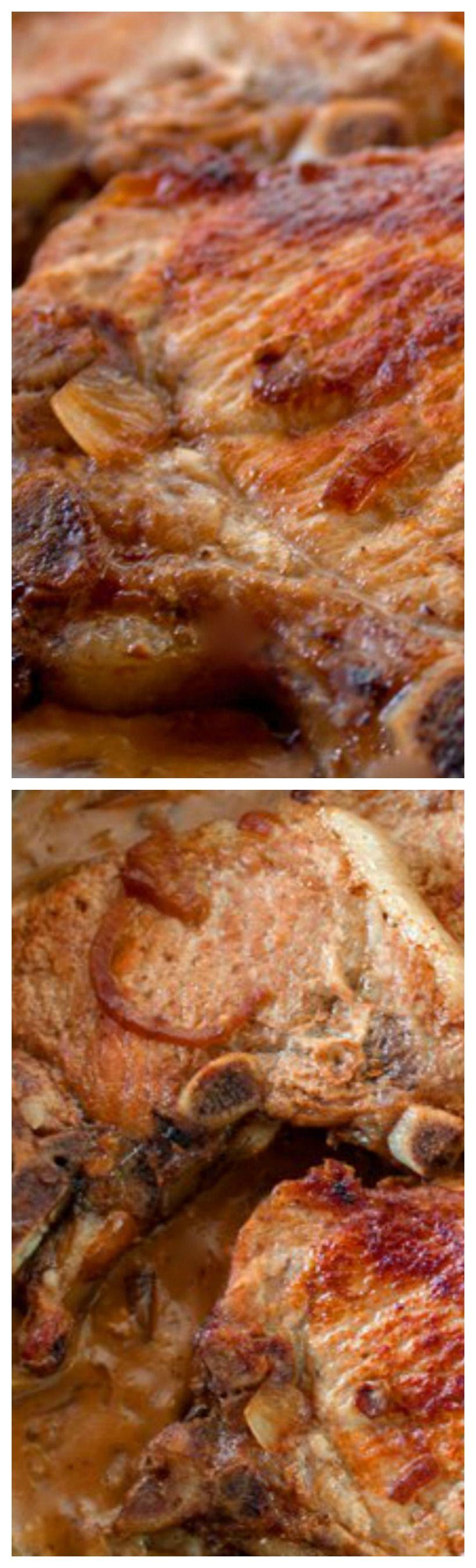 recipe: sour cream gravy pork chops [35]