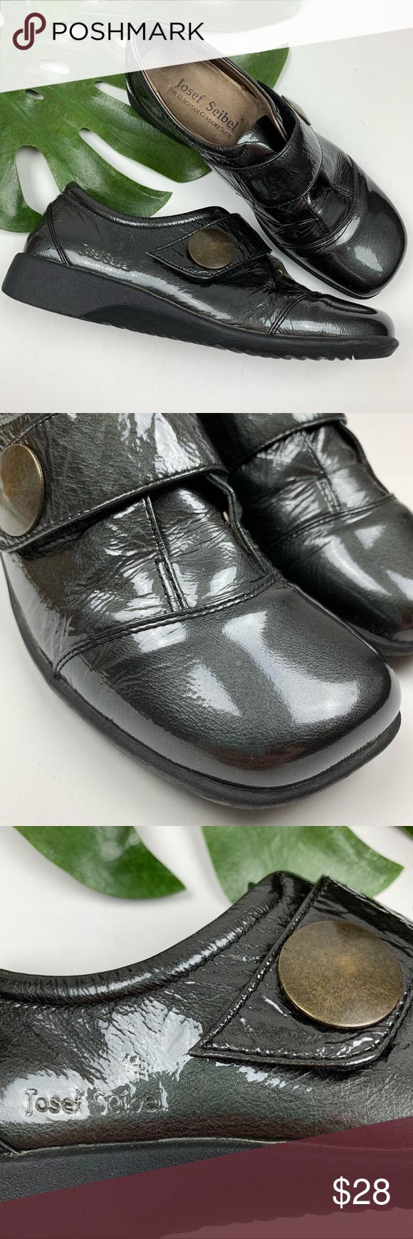 f66014d2 Josef Seibel Patent Leather Shoes 38 US 7.5 Josef Seibel women's patent  leather shoes in size