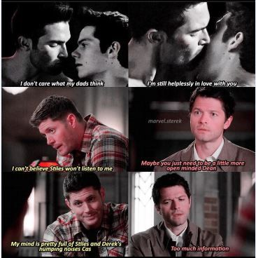 Lol poor Cas and Dean