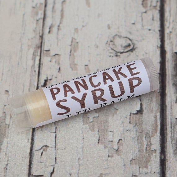 Christmas Gift for Him ~ All Natural Pancake Syrup Lip Balm, Awesome stocking stuffer, Under 10 Gift #stockingstuffersforadults Christmas Gift for Him ~ All Natural Pancake Syrup Lip Balm, Awesome stocking stuffer, Under 10 Gift #stockingstuffersforadults