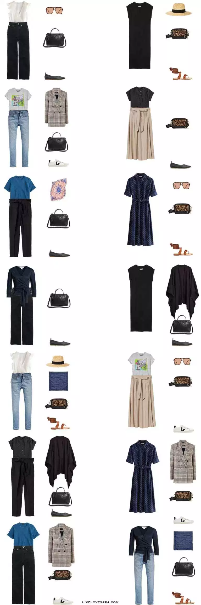 What to Pack for Venice in Late Summer and Early Fall - livelovesara #travelwardrobesummer