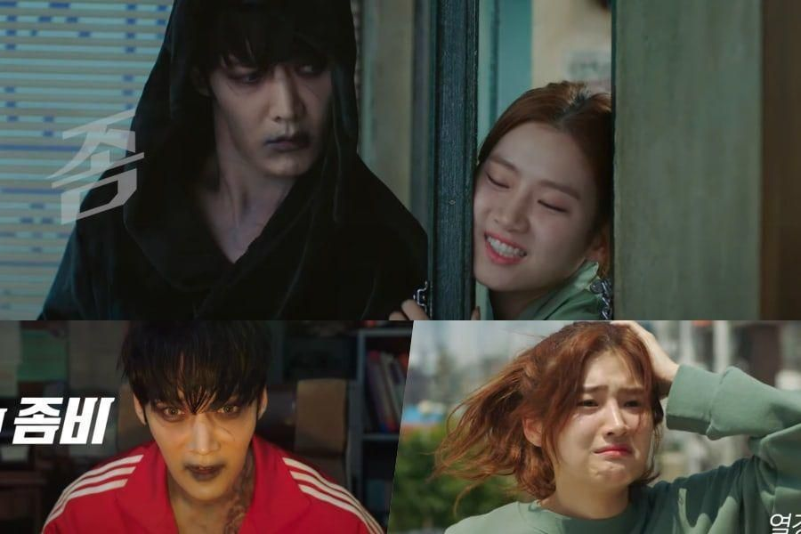 Watch: Choi Jin Hyuk And Park Ju Hyun Are Unlike What They Appear To Be In New Zombie Drama Teasers