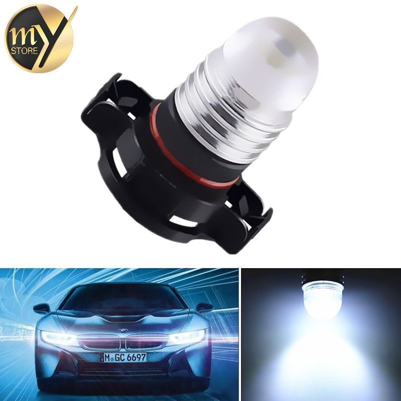 H16 White 3w Led High Power 5202 5201 Psx24w Drl Fog Car Led Bulbs Lamp Auto Car Light Source Parking 12v 6000k Car Lights Car Led Led Bulb